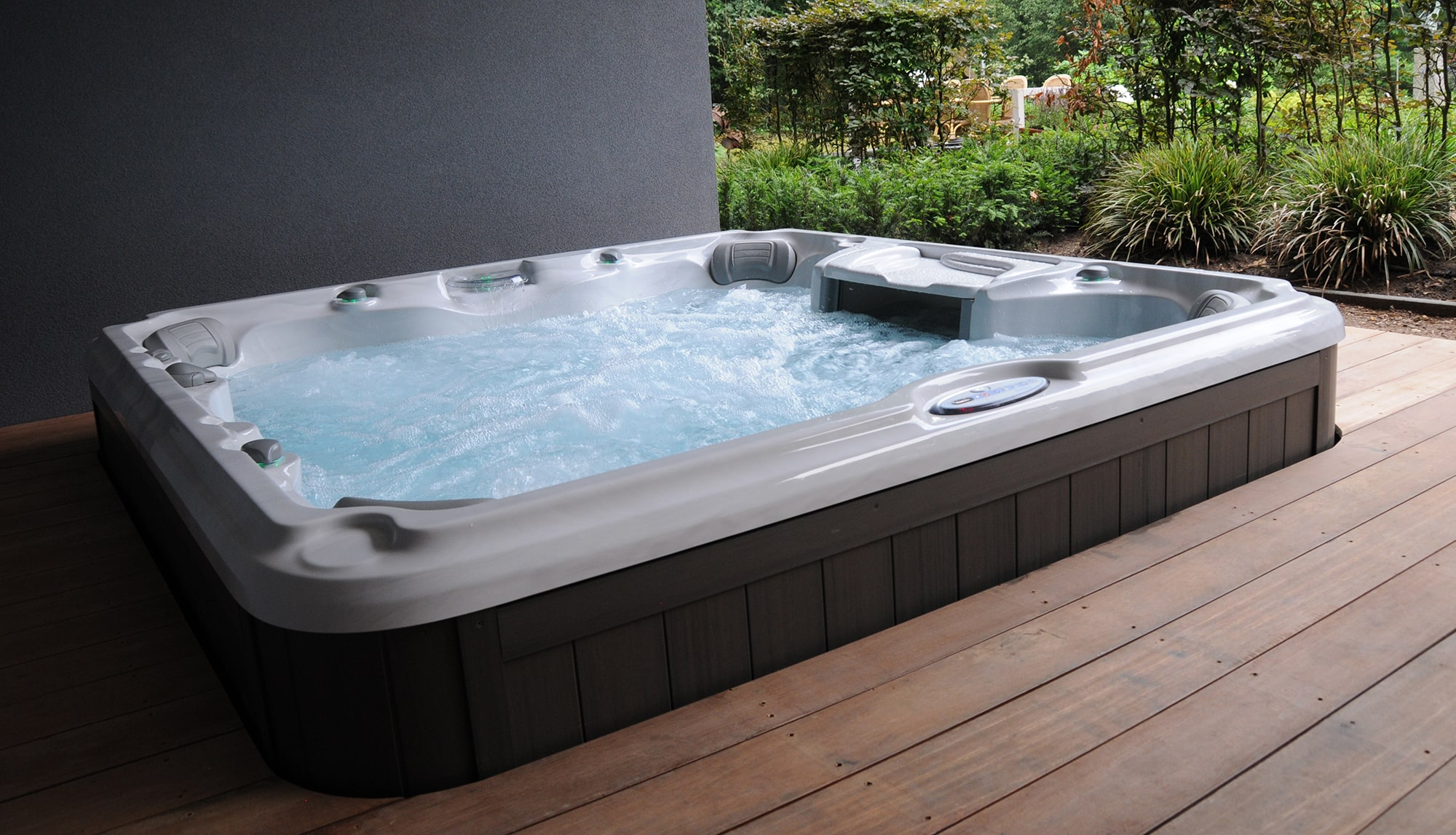 Sundance Spas installation in Redding, California